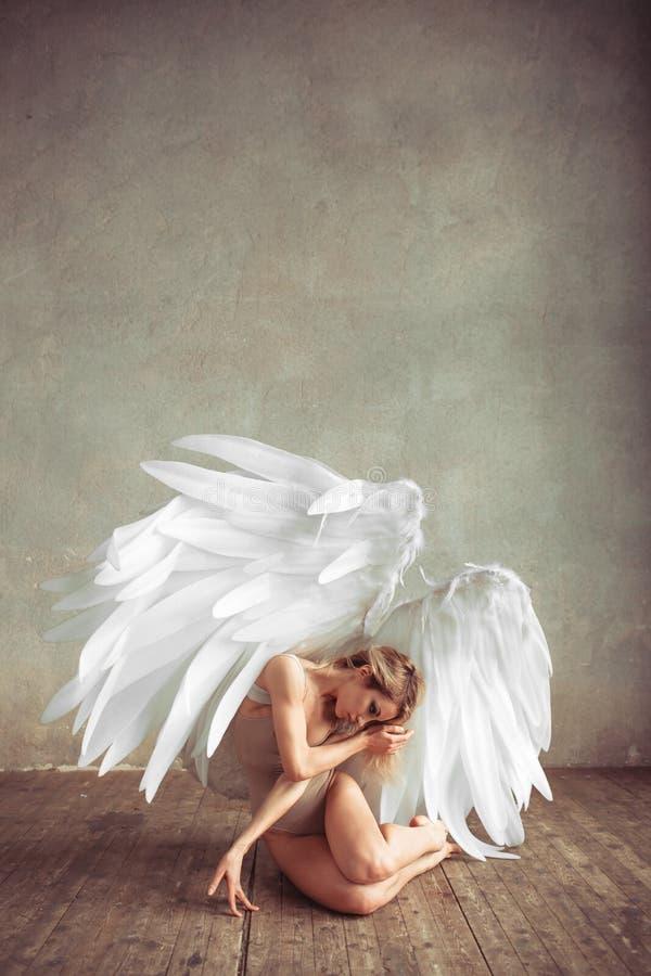 Mulher do anjo imagem de stock royalty free