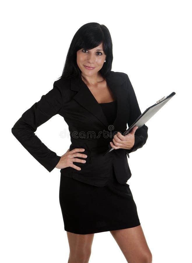 Mulher do chefe imagem de stock