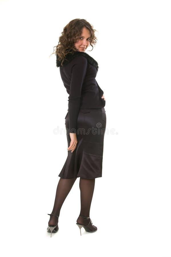 Mulher do Coquette foto de stock
