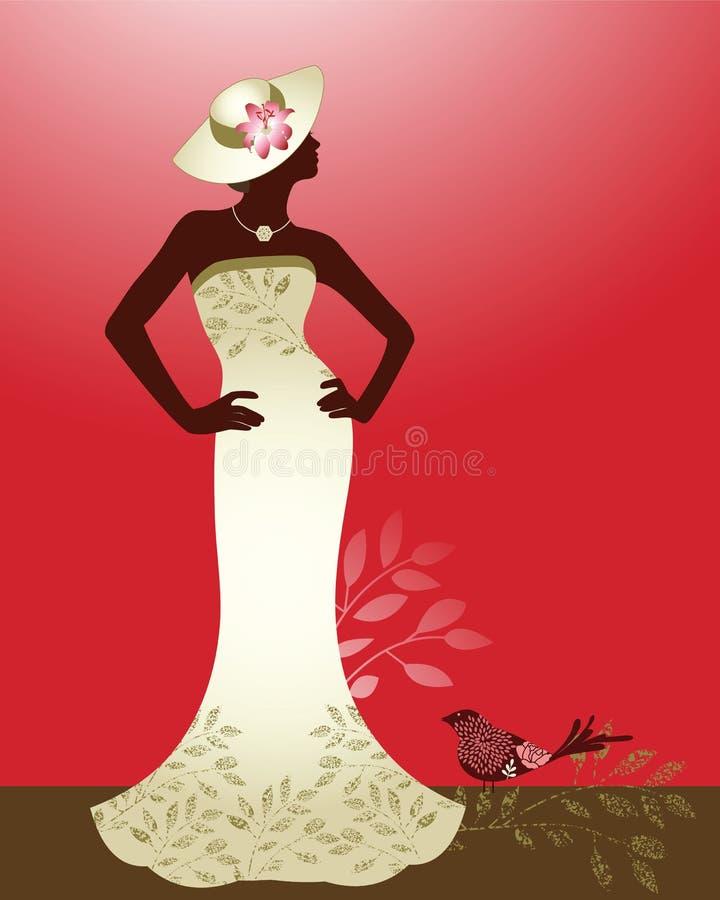 Mulher do Couture ilustração stock