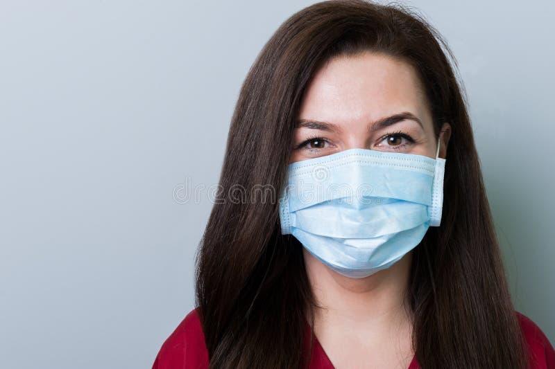 Mulher do doutor do dentista imagens de stock royalty free