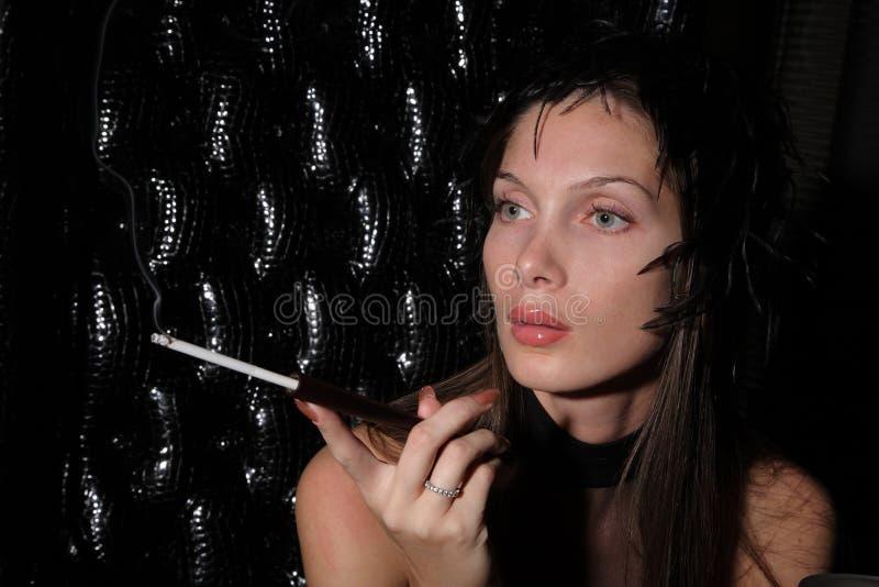 Mulher do encanto imagem de stock