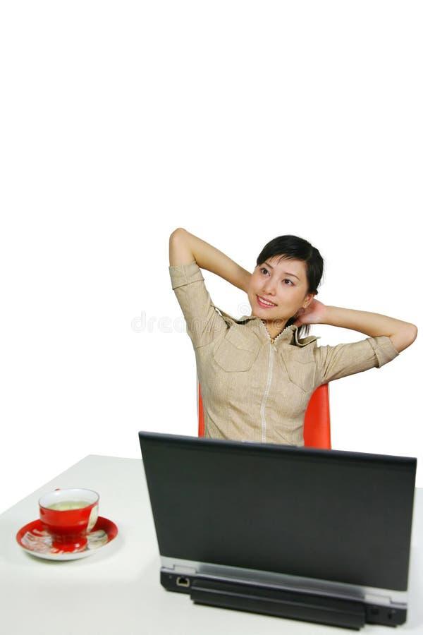Mulher do escritório fotografia de stock royalty free