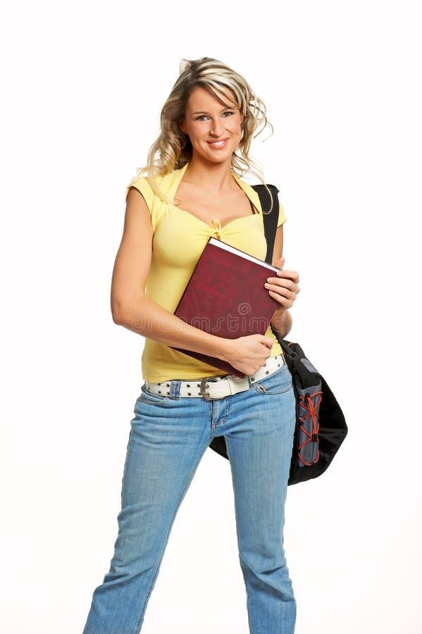 Mulher do estudante foto de stock royalty free