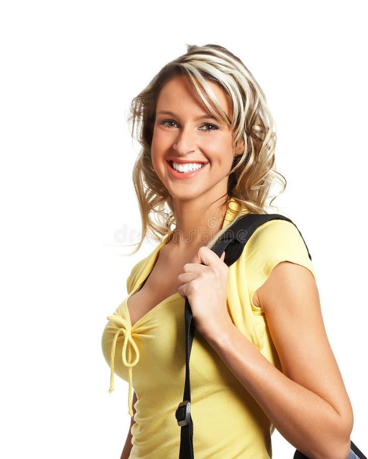 Mulher do estudante imagens de stock