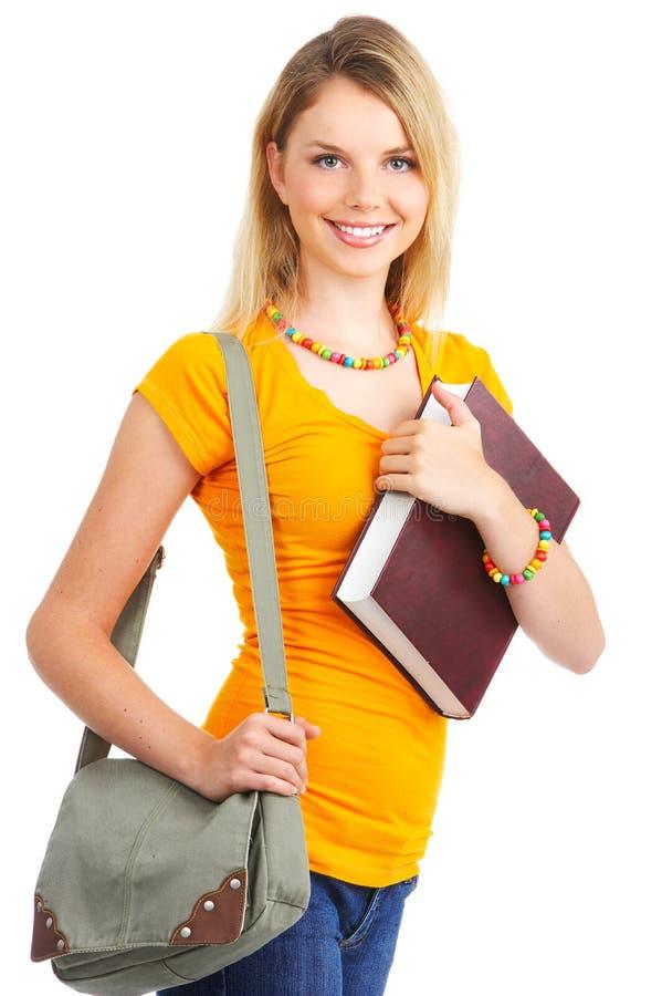Mulher do estudante imagens de stock royalty free