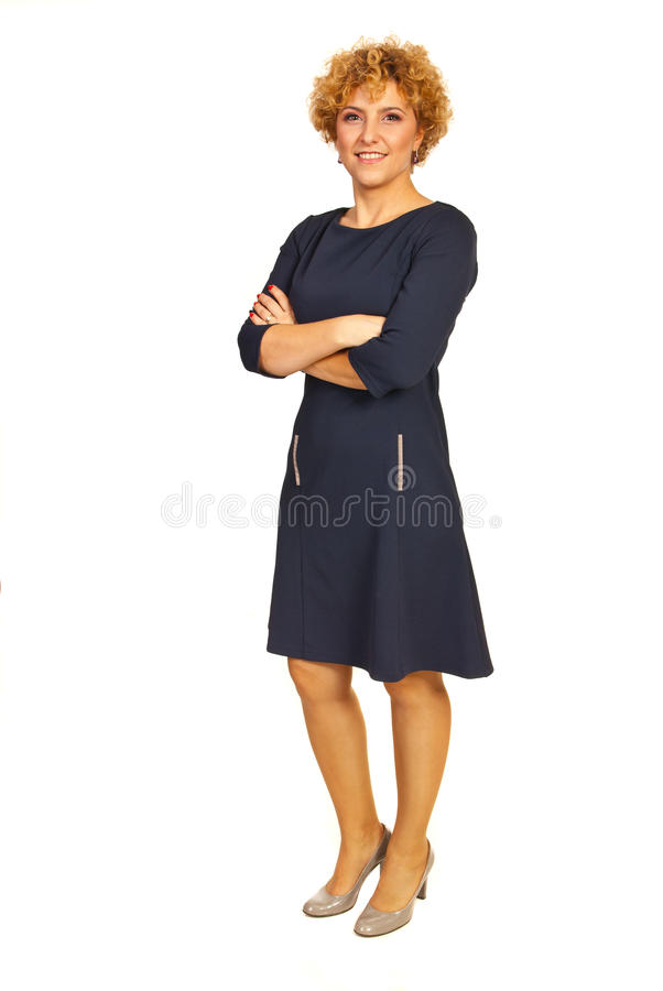 Mulher do executivo da beleza foto de stock royalty free