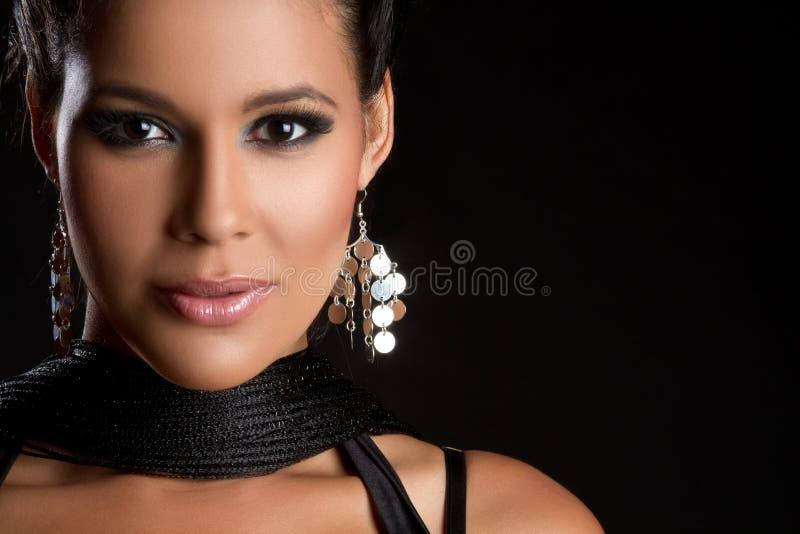 Mulher do latino de Beautful imagens de stock