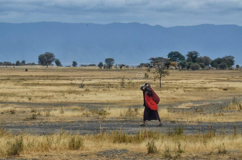 Mulher do Masai fotografia de stock royalty free