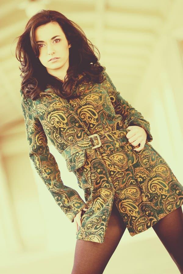 Mulher do modelo de forma fotografia de stock royalty free