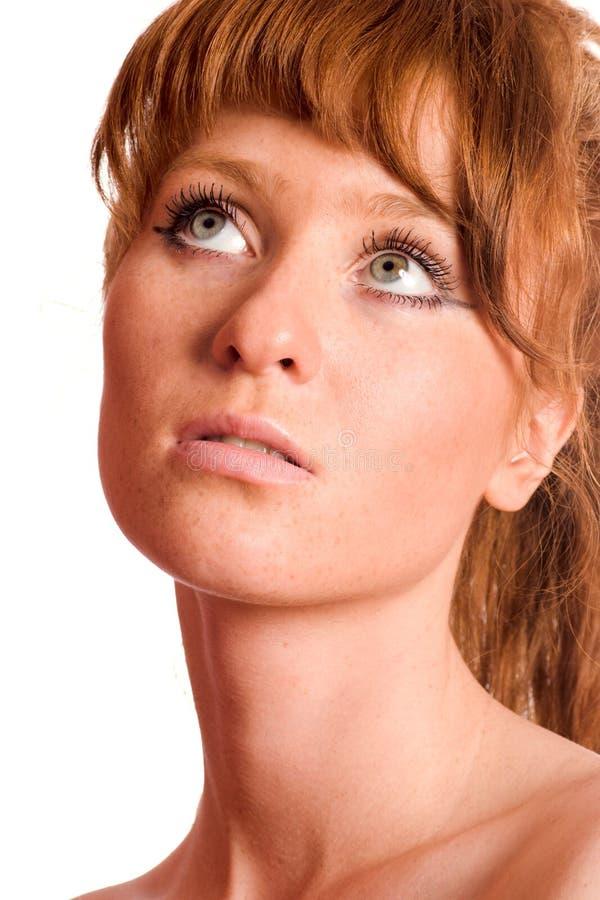 Mulher do Redhead fotos de stock royalty free