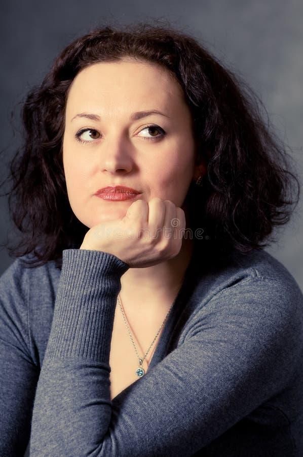 Mulher do retrato imagem de stock