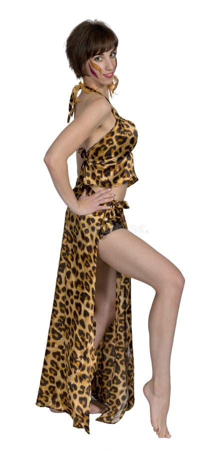 Mulher do russo como a dança oriental e a dança do ventre foto de stock