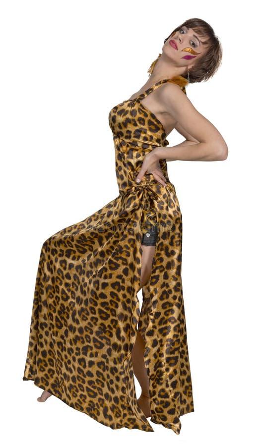 Mulher do russo como a dança oriental e a dança do ventre imagem de stock