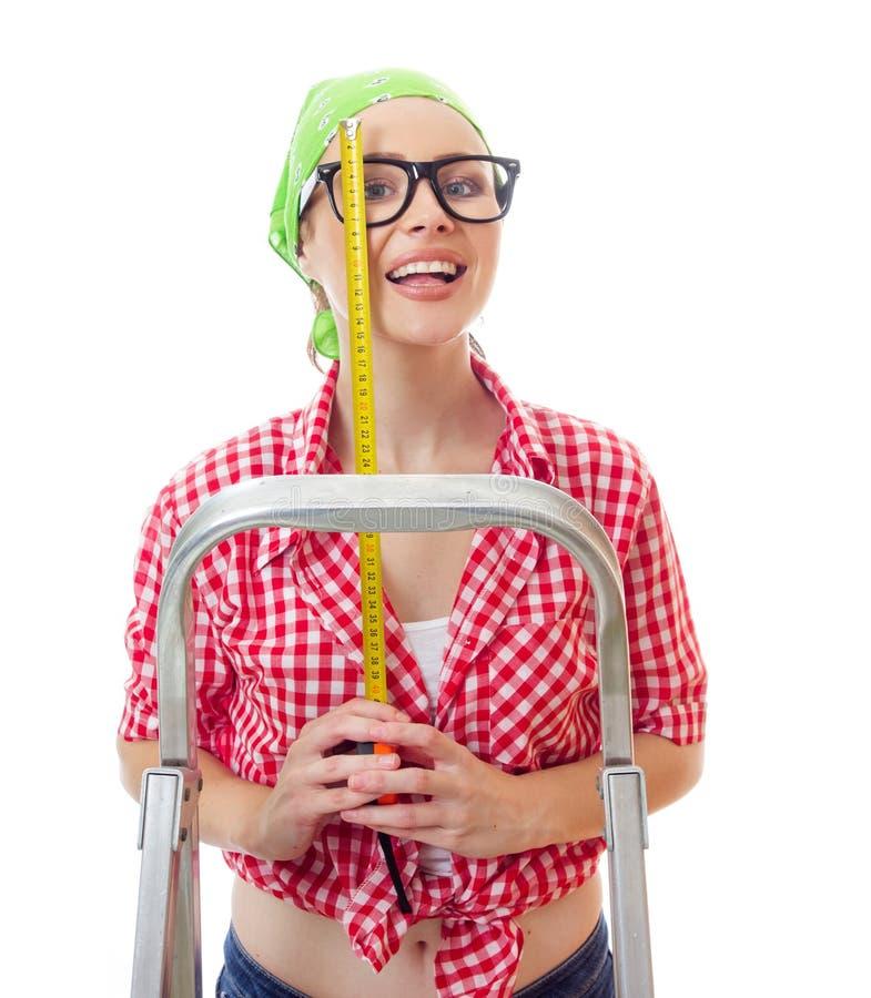 Mulher do trabalhador foto de stock royalty free