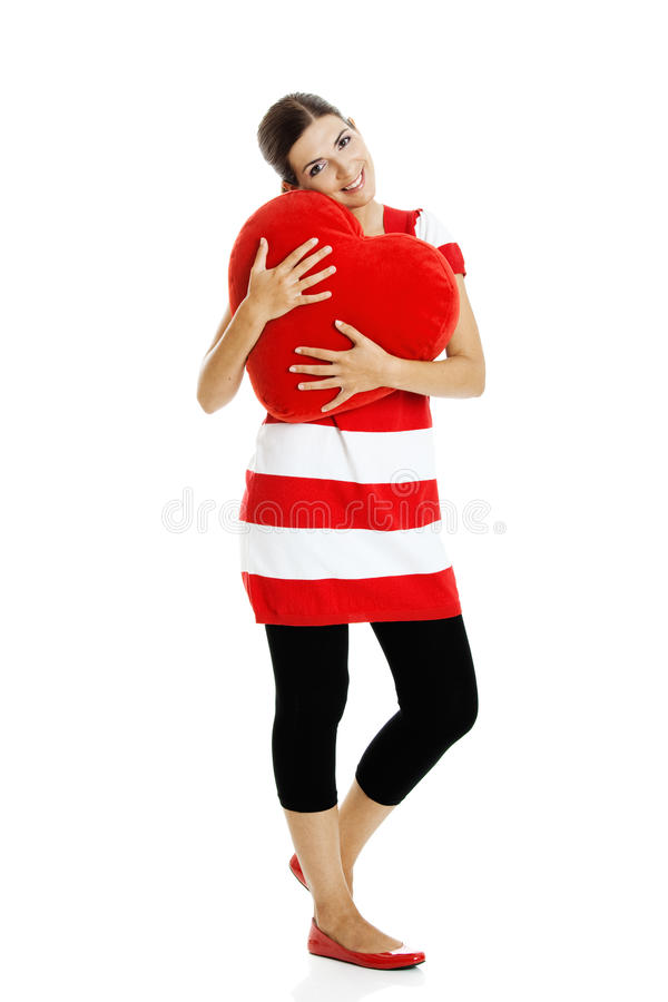 Download Mulher do Valentim imagem de stock. Imagem de adulto - 12805669
