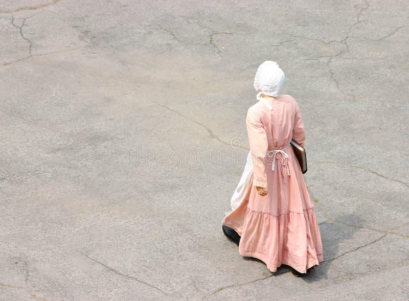 Mulher do Victorian foto de stock royalty free