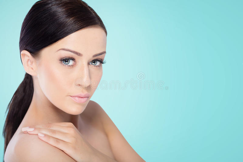 Mulher dos termas da beleza imagens de stock royalty free