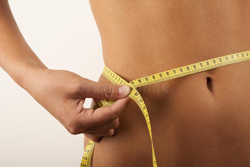 Mulher e dieta imagens de stock royalty free