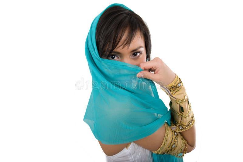 Mulher egípcia fotografia de stock