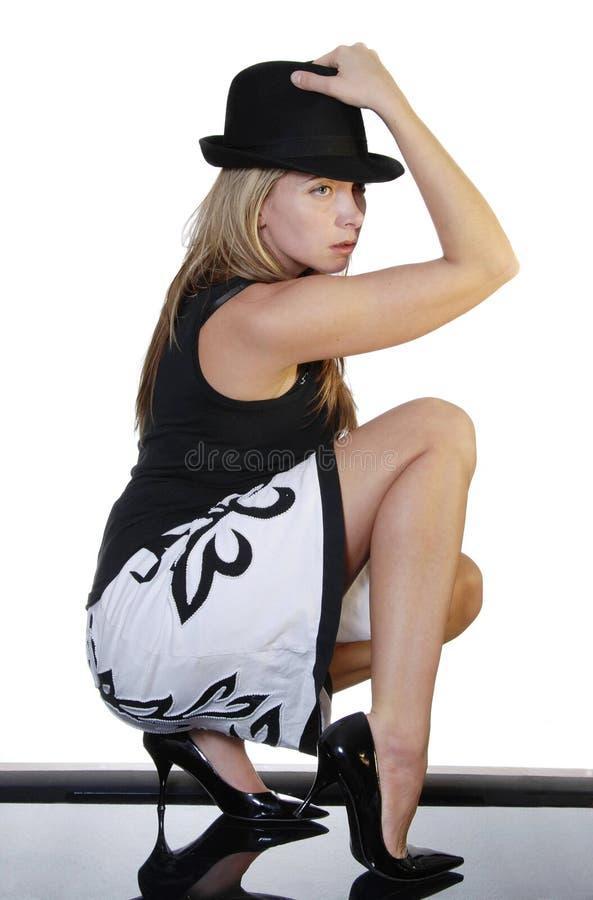 Mulher elegante fotos de stock