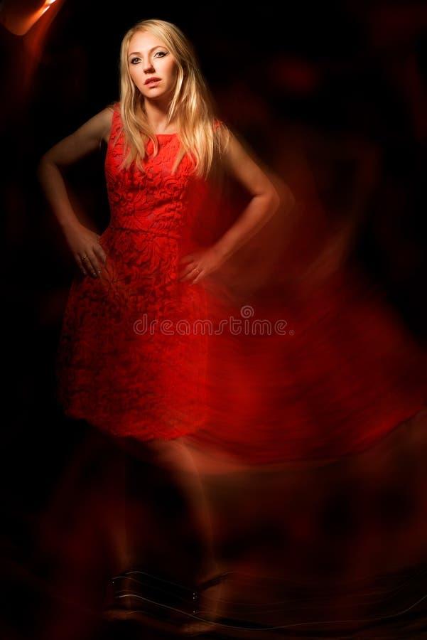 Mulher elegante fotografia de stock