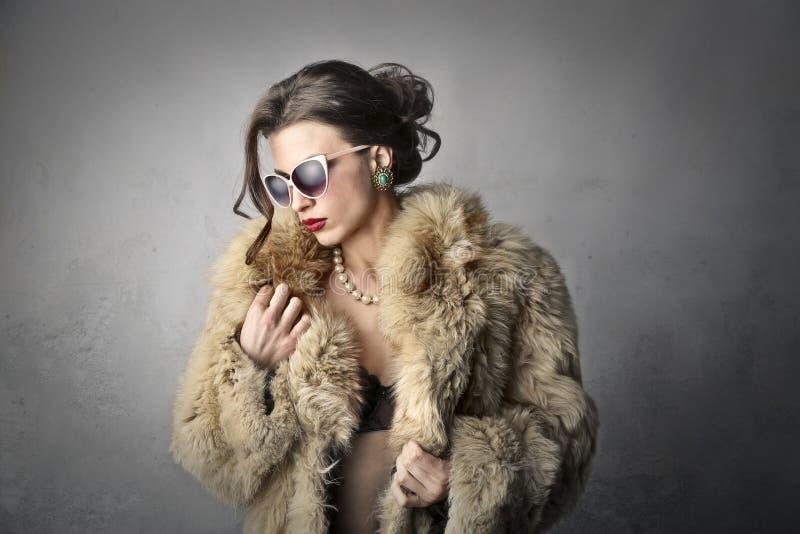 Mulher elegante fotografia de stock royalty free