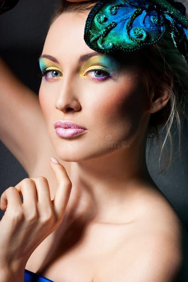Mulher elegante elegante imagens de stock