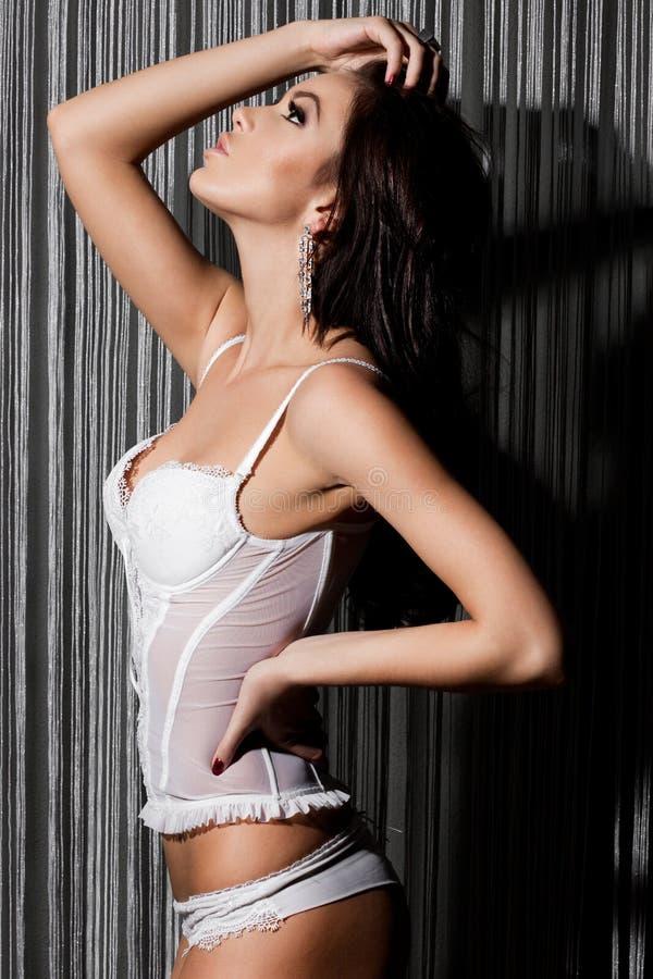 Mulher elegante elegante fotografia de stock