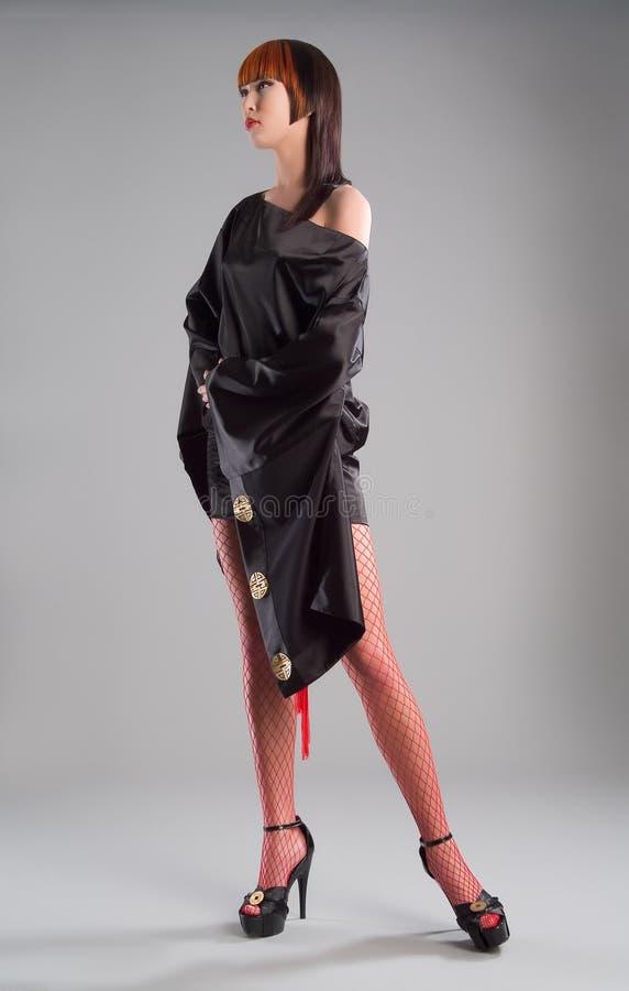 Mulher elegante nova fotos de stock royalty free