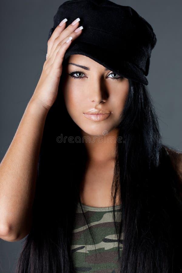 Mulher elegante 'sexy' imagem de stock