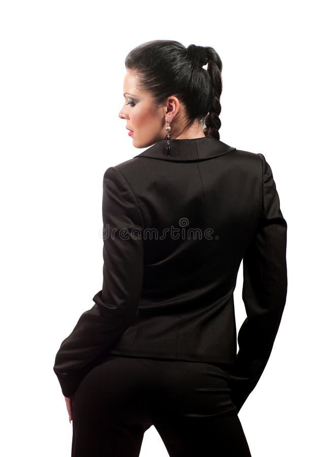 Mulher em um vestido fotos de stock royalty free