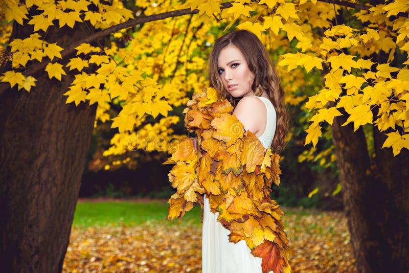 Mulher Enchanting imagens de stock