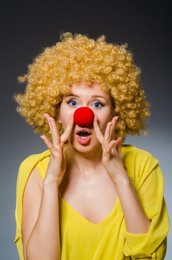 Mulher engraçada imagem de stock royalty free