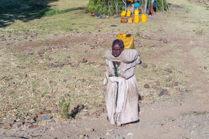 Mulher etíope foto de stock royalty free