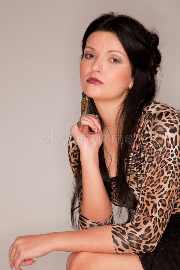 Mulher européia nova bonita fotos de stock