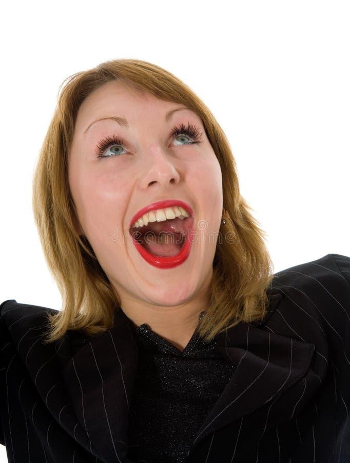 Mulher expressivo imagens de stock