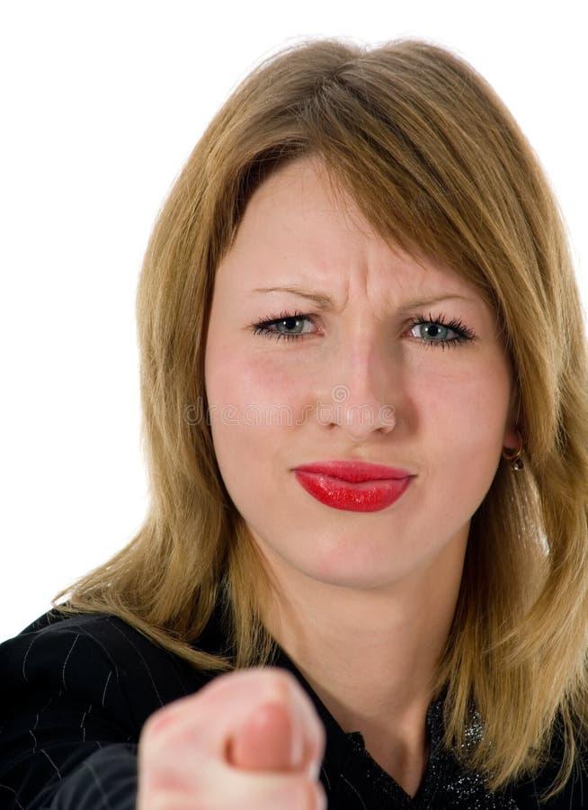 Mulher expressivo imagens de stock royalty free