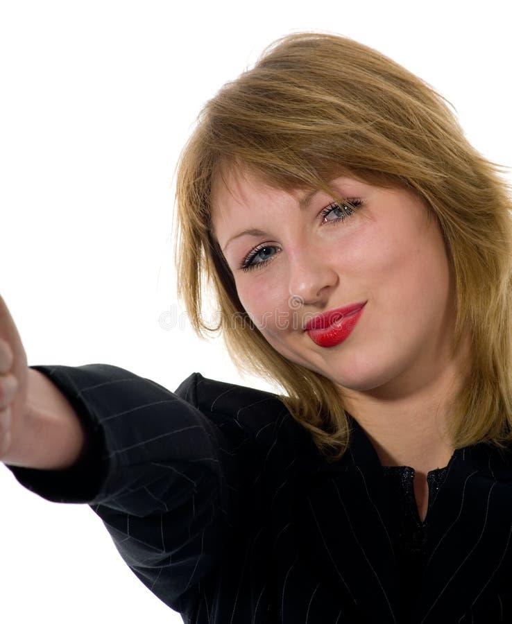 Mulher expressivo foto de stock