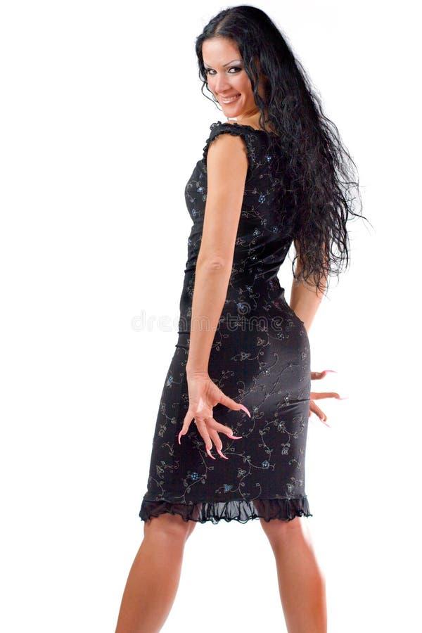 Mulher feliz lindo foto de stock royalty free