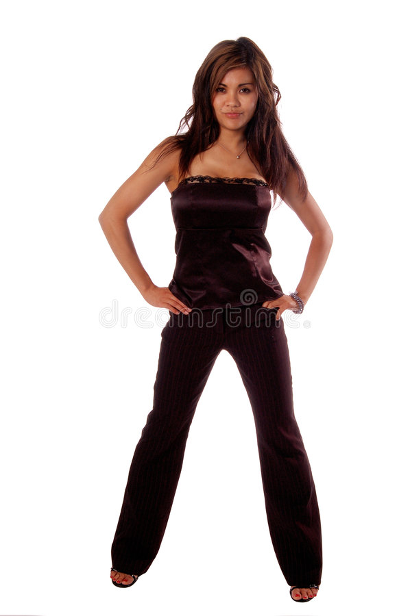 Mulher formal 3c da forma fotografia de stock royalty free