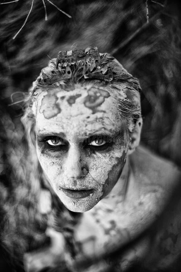 Mulher Freaky fotografia de stock