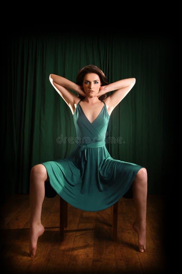 Mulher glamoroso fotos de stock royalty free