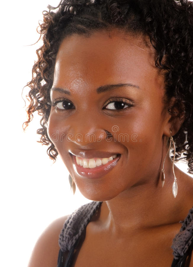 Mulher glamoroso do African-American imagens de stock royalty free