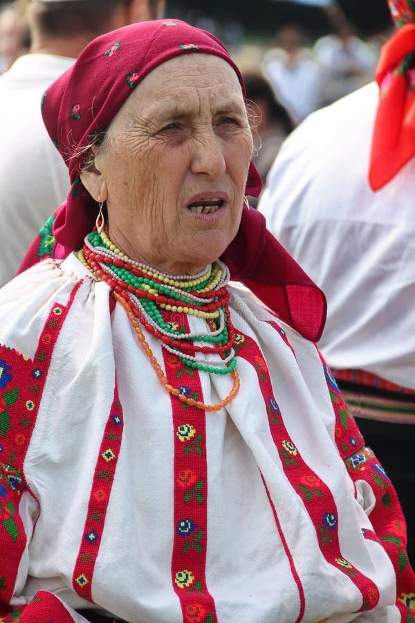 Mulher húngara imagens de stock