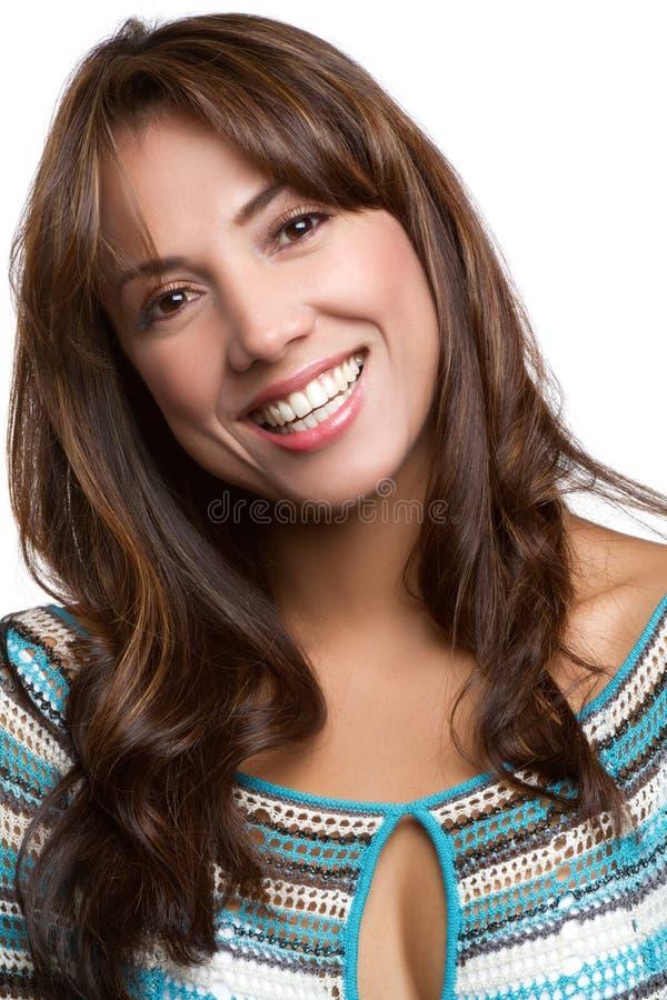 Mulher Headshot imagem de stock