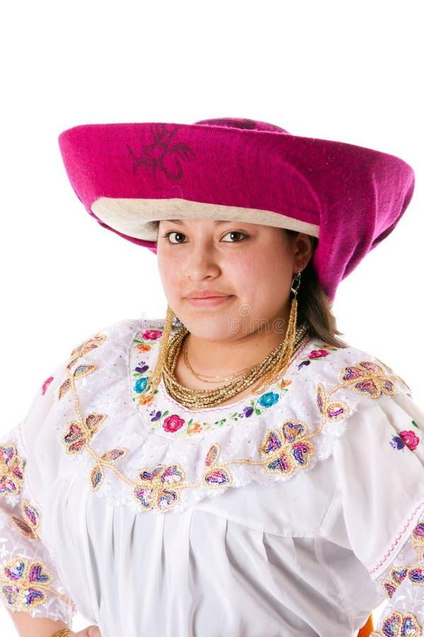 Mulher indiana latin étnica bonita imagem de stock royalty free