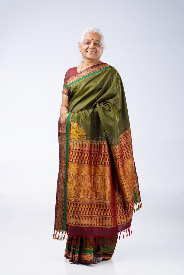Mulher indiana sênior imagem de stock royalty free
