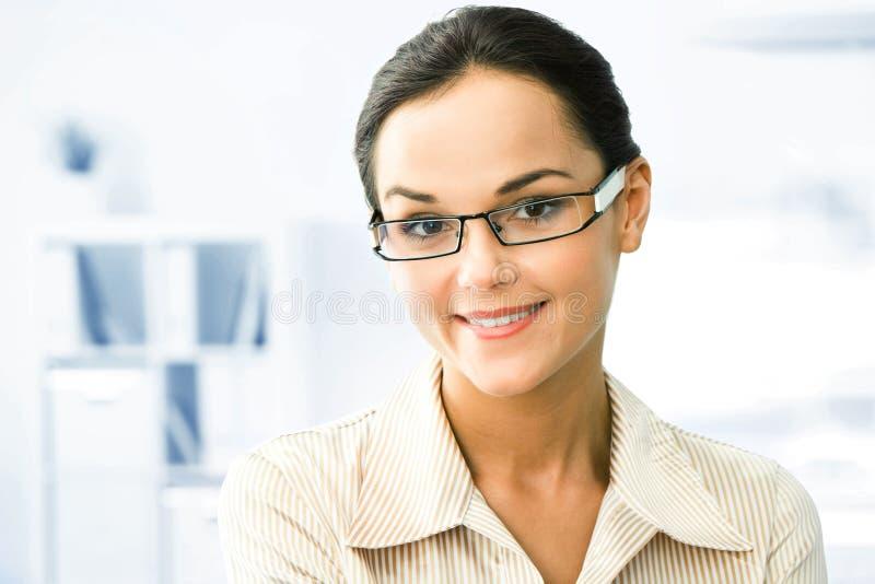 Mulher inteligente imagens de stock