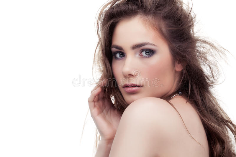 Mulher irresistível imagem de stock